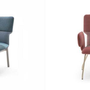 Verschiedene Modelle des Sitzmöbel Twiggy