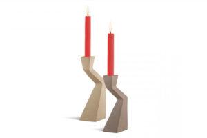 Kerzenständer in ZICZAC -Form