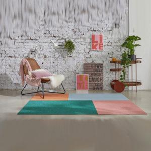 Dieses Bild zeig den Teppich interart von tretford