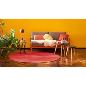 Dieses Bild zeig den Teppichboden interlife von tretford mit Borduere